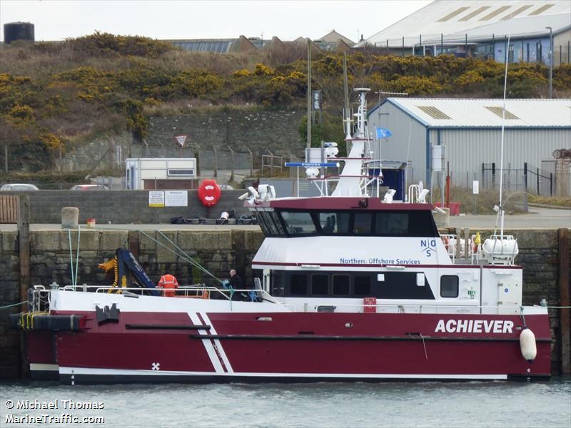 vessel ACHIEVER IMO: 9634127, VL